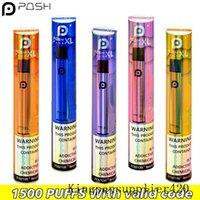 NEW POSH PLUS XL Disposable Device vape pen Pod Kit 1500 Puff 5.0ml Pre-filled Cartridges Vape Empty Pen