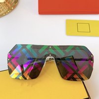 NEW Fashion Sqaure F0039S Sunglasses Women Oversized One Pie...