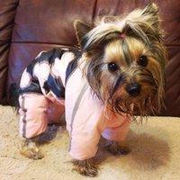Одежда для собак Зимнее домашнее животное Куртка для маленьких собак Светоотражающий Теплый Флис щенок Собаки Chihuahua Yorkie Одежда для одежды 201126