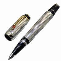 Top di alta qualità Bohemies dorato argento penna a sfera a rulli con diamanti tappo ufficio forniture scolastiche e germania penna di marca seriale numbe