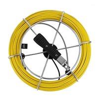 20 متر الألياف الزجاجية خط أنابيب الكابلات التفتيش تستخدم لاستخدام نظام التفتيش على الأنابيب 1