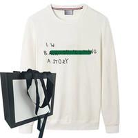Мода толстовки мужские свитер толстовки с длинным рукавом касауальная толстовка буква осень весенний унисекс тонкое дышащее качество