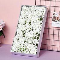 HVAYI 50 pz / scatola Sapone Hydrangea Heads Romantico Natale Nozze di San Valentino Regalo Dono Domata Banchetto Decorazione Banchetto Flower Art DIY1