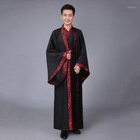 Носите сцену Hanfu танцевальный костюм DUMANSTY Традиционная китайская одежда для мужчин Женщины Женщины Cholar Festival Outifits Древнее платье MEN1