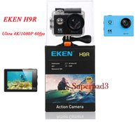 "EKEN H9R Spor Kamera Kamera 2 ""LCD Ekran Wifi Gerçek 4 K Video 1080 P 60 FPS 170 ° Geniş Açı Su Geçirmez Kask Eylem Kamera"