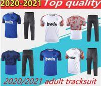 2020 / 21Valencia F C Tracksuit 2021 Homens Treinamento Terno Parejo Camisa de Futebol Gameiro Homens Chandal Valência Entrenamiento Adult Tracksuit