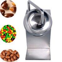 2021 Neueste Heißer Verkauf Zucker Candy Tablet Beschichtungsmaschine Elektrische Mini Pille Poliermaschine Pellets mit Heißluftgebläse 2-6kg / Zeit