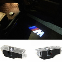 New Fantasma Luz Sombra Bem-vindo Logo projetor laser Luzes LED porta do carro para BMW M E60 M5 E90 F10 X5 X3 X6 X1 GT E85 M3