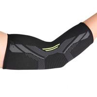 1Pc Elbow Поддержка дышащего Сжатие рукав Elbow Brace поддержка протектор для тяжелой атлетики Артрит Волейбол Теннис Arm