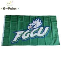 NCAA Florida Gulf Coast Eagles Flagge 3 * 5ft (90cm * 150 cm) Polyester Flagge Banner Dekoration Fliegen Home Garten Flagge Festliche Geschenke