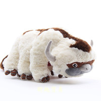 """18 """"/ 45 cm Avatar Letzter Airbender Appa Plüschtiere Weiche Juguetes Kuh ausgestopftes Spielzeug für Geschenke Kostenloser Versand"""