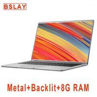 Laptop 15.6 inç ile 8G RAM 128G / 256G / 512G / 1 TB M.2 SSD Dizüstü Bilgisayar Dizüstü Bilgisayar Dizüstü Bilgisayar Dizüstü Bilgisayarlar Ile Metal Vücut IPS Ekran Arkadan Gösterge Klavye1