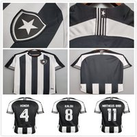 20 21 Botafogo Honda Jersey Football Jersey Luiz Fernando Diego A.Santana Cicerone Home Uniforme Soccer Camicia Camisa Botafogo Uomo personalizzato + donna
