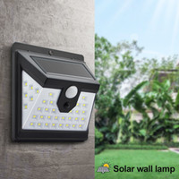 Solar Lights Outdoor 40 LED Motion Sensor Security Lights IP...