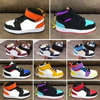 Kids Shoes Brown Low Travis Scotts Children Basketball Shoes...