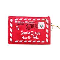 Рождественские мини-красный конверт 2020 деревьев украшения кулон украшения Santa Claus подарки конфеты сумка нетканые ткани горячие продажи 1 1 1