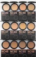 Stokta !! Makyaj Yüksek Kalite NC 12 Renkli Studiu Düzeltme Tozları Puffs Vakfı 15G! DHL ücretsiz shippingNew sıcak makyaj yüksek kaliteli nc renkler