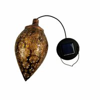 Hanging LED Solar Light Lamp Outdoor Waterproof Solar Powere...