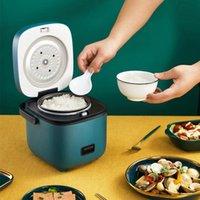 طناجر الأرز مصغرة طباخ 1.2L 220 فولت لطيف متعدد آلة الطبخ الكهربائية الأجهزة المنزلية غير عصا عموم باخرة الغداء مربع