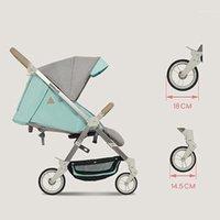 Carrito de bebé Carro para niños de cuatro ruedas se puede plegar livianos Tomar un plano de una sola mano de un segundo almacenamiento de verano, regalo de verano1