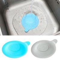 Silikon-Tub Stopper Badewanne Ablassschraube für Badezimmer-Küche-Wannen Deodorant und Leakproof Silikon-Fußboden-Abfluss-Abdeckung