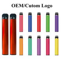 Yüksek Kalite OEM Özel Tek Kullanımlık Vape Kalemler Başlangıç Kiti 1000 mAh Pil 4.5ml Pods Cihaz Pod kutusu Çıkartmalar