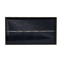 Panel de epoxi solar Polycrystalline Silicon de alta calidad Cargador solar de alta calidad Panel solar policristalino Panel fotovoltaico 69mm * 130mm