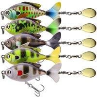 10PCS الصيد السحر CRANKBAIT أسماك العائمة قلم رصاص المتداول الصلب بيت 16.5g 6cm ومع صندوق Fishhing معالجة