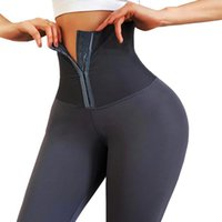 Chrleisure Sexy Fitness Legging Anti Celulitis Mujeres Inconsútil Cintura Alta Encogimiento Abdomen Leggings Entrenamiento Pantalones apretados1