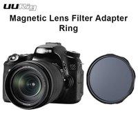 DSLR ND Filtre Hızlı Sistem Universal için UURig R-67L 67/72 / 77 / 87mm Manyetik Lens Filtre Adaptörü Halkası