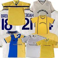 1978 1998 1999 2000 2001 Retro Leeds Soccer Jersey Vintage Home Aluski Smith Bamford Fowler 78 98 99 Camisa de fútbol S-2XL