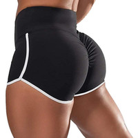 Women' s Workout Shorts Scrunch Booty Gym Yoga Pants Mid...