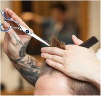 10 Adet Profesyonel Saç Kesme Makas Seti İnceltme Makası Saç Razor Tarak Klipler Cape Kuaförlük Kiti Bar Wmtblf