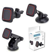 Универсальный автомобильный держатель 360 градусов Магнитный кронштейн Настольный телефон Держатель Телефон Регулировка стойки Приборная панель Магнит Монтаж для iPhone 12 11 X XS MAX GPS