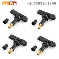 4 шт давления в шинах Датчики TPMS 52933C1100 52933C1100 для Hyundai Sonata I20 IX35 Creta Tucson 433MHz