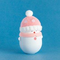 Снеговик Теплые руки Сокровище Зарядка Мини Прекрасный Теплый USB Baby Снеговик Зимнее Наружное Отопление на обеих сторонах Регулируемый термостат