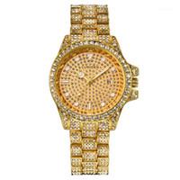 Curdden Marke Uhren Herren Einfaches Diamant Datum Quarzuhr Männliche Business Gold Geschenke Uhr Montre Homme de Marque 15151