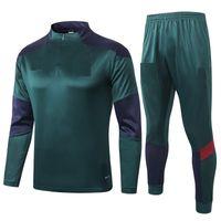 Neue 2020 2021 Erwachsene Kit Lange Ärmel Italy Jacke Uniformen Trainingsanzüge Fussball Jersey 20 21 Zug Football Coat Trainingsanzug