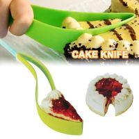 Pain en plastique gâteau tarcheuse tape trancheuse guide de feutre de coupe de pain de cuge de cuge de cuisson de cuisine gadget outils de cuisson pizza couteau