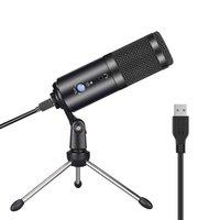 GGMM F1 Mikrofon USB Kondenser Mikrofonlar Dizüstü Mac Bilgisayar Kayıt Stüdyosu Streaming Oyun Karaoke YouTube Videolar