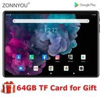 2020 Novo 10 polegadas 3G WiFi Tablet PC Quad Núcleo 2GB RAM 32GB ROM 1280X800 IPS 2.5D Vidro Temperado 10.1 Tablets Android 9,0+ Gift1