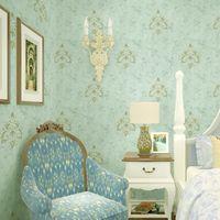 Moda Seamless Textile Tecido Papel de Parede 10 Anos Garantia Formaldeído Quarto GRÁTIS Sala de estar Villa Decoração Wallcovering