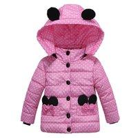 Outono inverno meninas jaqueta casaco cópia ponto espesso aquecido crianças jaqueta para meninas outerwear crianças roupas crianças crianças outerwear roupas 20112