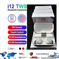 NEW I12 TWS Bluetooth 5. 0 Headset TWS Wireless Earphones Twi...