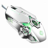 Nuevo ratón adecuado para la oficina de escritorio de la computadora de escritorio USB Gaming Mouse Gamer Ratones de computadora para computadora portátil computadoraktop pc 2020 # T21