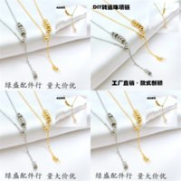 Pny Hot Pearl Chain Planet Gift Jewelry Rhinestone Satellite frostmourne neckla Pendant Necklace for Necklace Party Fashion Women