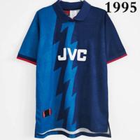 قمم 1995 الرجعية لكرة القدم الفانيلة Home Wright 8 Merson 9 Bergkamp 10 Adams 6 Shirts الكلاسيكية Vieira Martin Beawn Henry 14 Away 1982/83 قميص كرة القدم 1985 Thailand S-2XL
