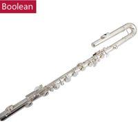 C Sleutel Bass Flute 14 Gaten in lijn G Key Cupronickel Bass Flutes Muziekinstrumenten Ocarina met Case Muziekinstrumenten