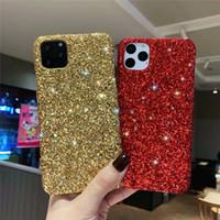 Casos de diamante para iPhone 12 11 Pro Max X XS XR SE2020 7 8 Capa de Luxo Premium Bling Foriphone XSmax Glitter Capa