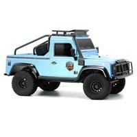 RCtown RGT 136161 1/16 2.4G 2WD Rock Crawler RC Car caminhão de caminhão de veículo